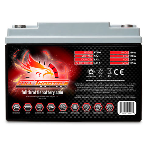 Full Throttle Batteries
