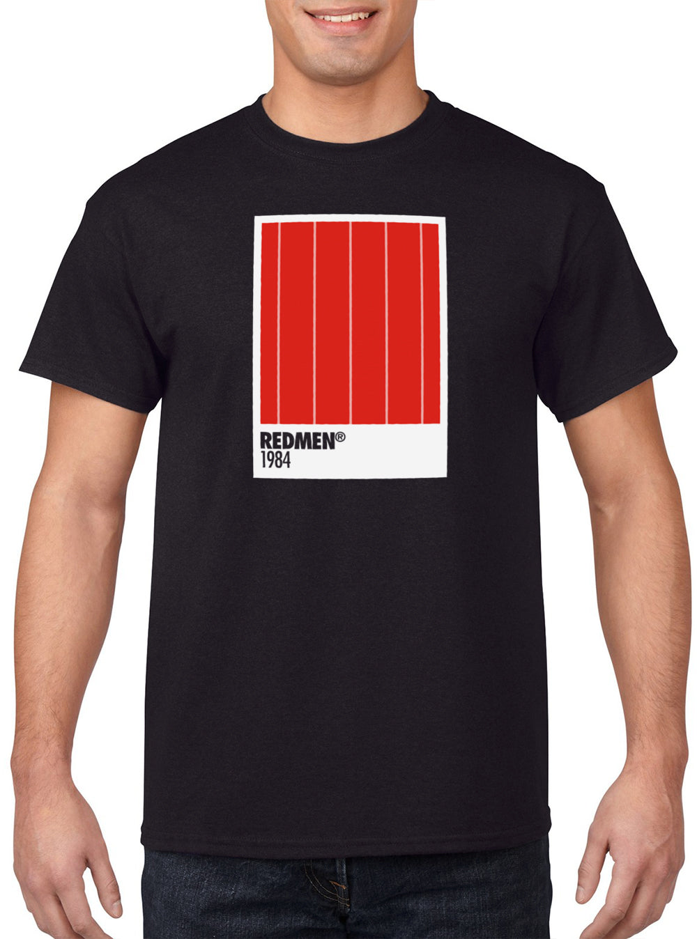 03 ALL MY COLOURS 'Redmen 1984 Homefront' Edition Tee