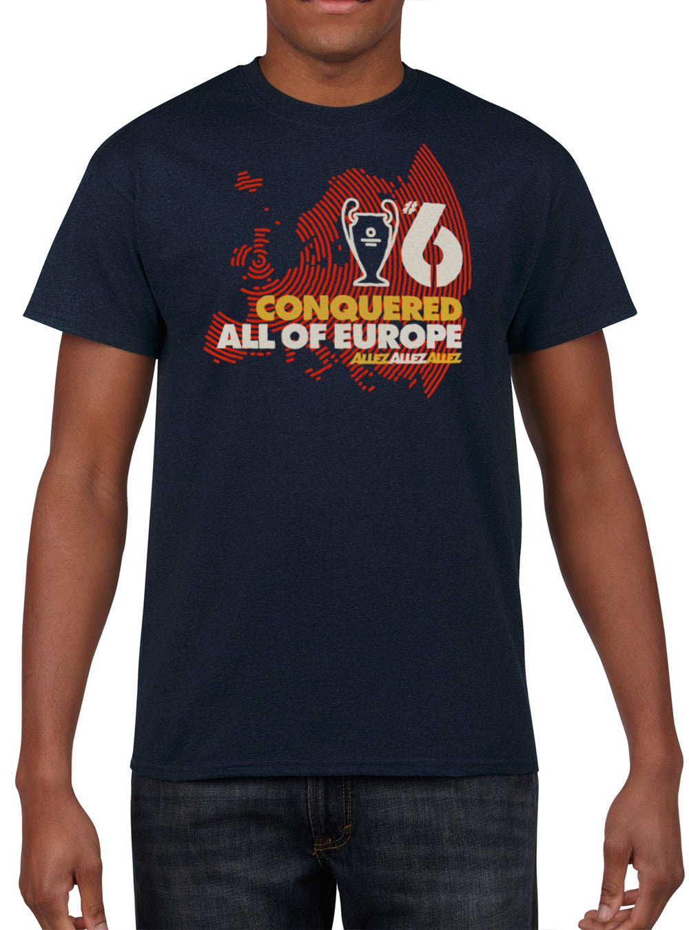 17 SIX TIMES 'Conquered All Of Europe' Edition Tee