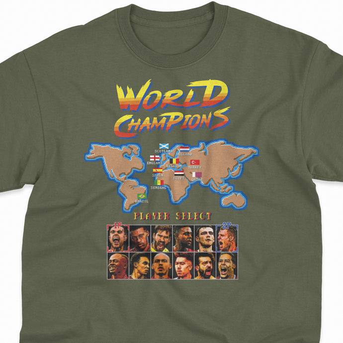 WORLD CHAMPIONS 'LFC x Streetfighter by Moving Unit' Tee