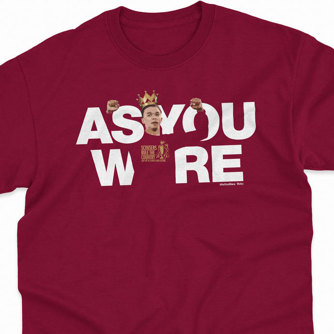 PREMIER LEAGUE CHAMPIONS 'As You Were TAA' Tee