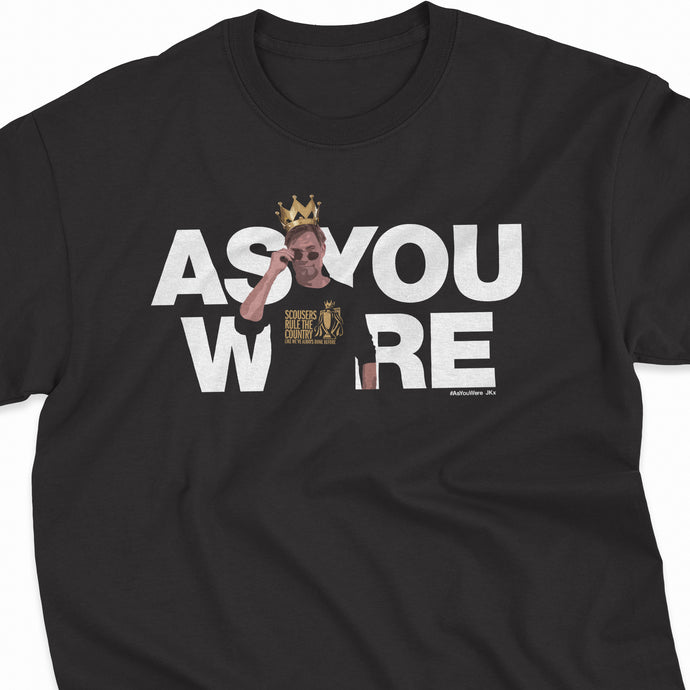 PREMIER LEAGUE CHAMPIONS 'As You Were JK' Tee