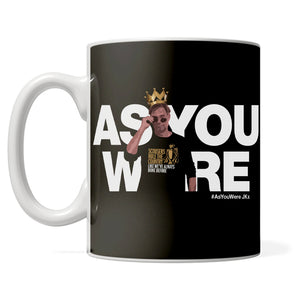 PREMIER LEAGUE CHAMPIONS 'As You Were JK' mug