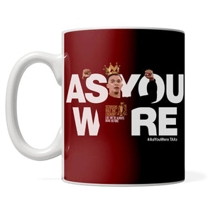 PREMIER LEAGUE CHAMPIONS 'As You Were TAA' mug