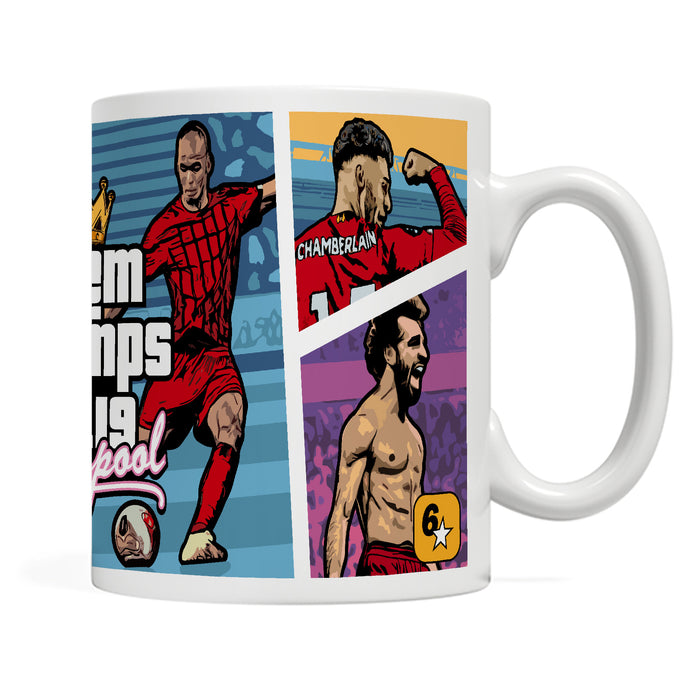 PREMIER LEAGUE CHAMPIONS 'LFC x GTA by Moving Unit' mug