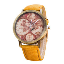 Load image into Gallery viewer, Fashion Watch Women World Map