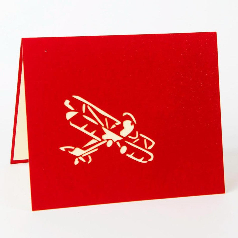 Airplane  Blank Greeting Card