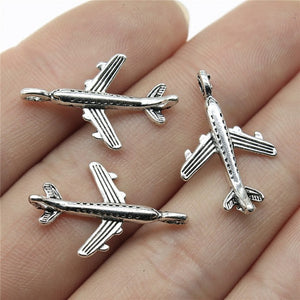 Airplane Airbus Charm Pendants