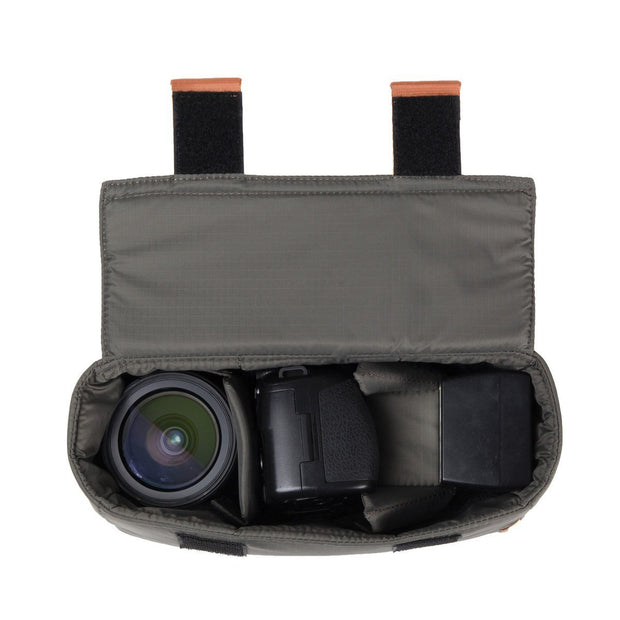 Female Flasher Camera Shoulder