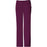 Cherokee Luxe 1066 Scrubs Pants Women's Low Rise Straight Leg Drawstring Wine
