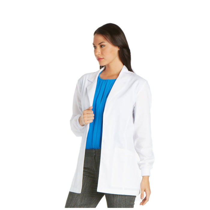 "Cherokee Professional 1302 Lab Coat Women's 30"" White"
