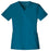Cherokee Luxe 1845 Scrubs Top Women's V-Neck Caribbean Blue