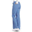 Cherokee Workwear Core Stretch 24001 Scrubs Pants Women's Low Rise Drawstring Cargo Ciel Blue 3XL