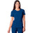 Cherokee Infinity 2624A Scrubs Top Women's Round Neck Royal