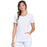 Cherokee Infinity 2624A Scrubs Top Women's Round Neck White