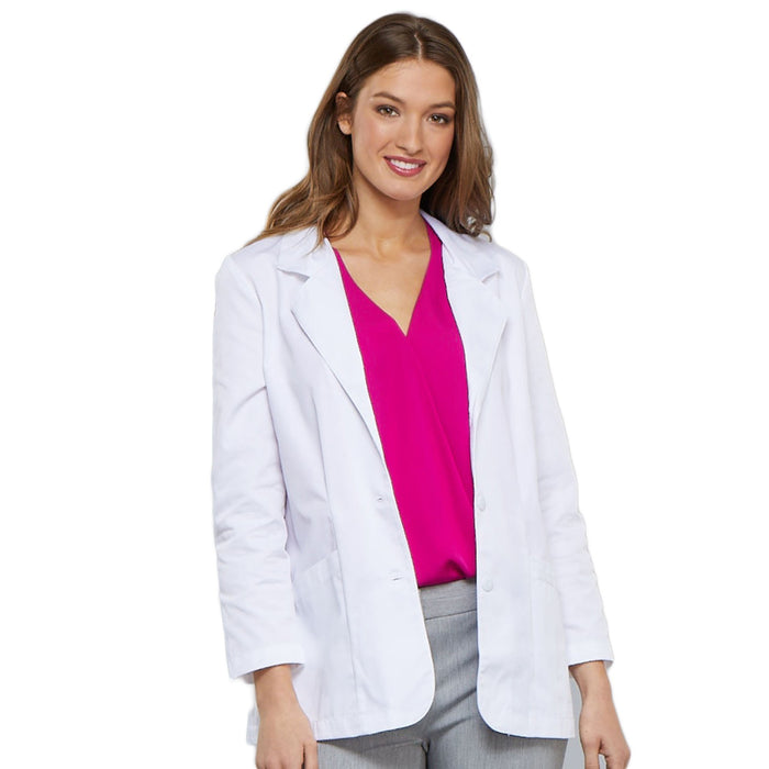 "Cherokee Workwear Professionals 348 Lab Coat Women's 30"" White"