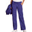 Cherokee Workwear 4020 Scrubs Pants Women's Low Rise Drawstring Cargo Grape