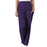 Cherokee Workwear 4200 Scrubs Pants Women's Natural Rise Tapered Pull-On Cargo Eggplant