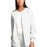 Cherokee Workwear 4350 Scrubs Jacket Women's Snap Front Warm-Up White