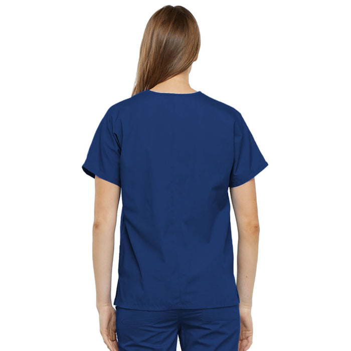 Cherokee Workwear 4700 Scrubs Top Women's V-Neck Galaxy Blue 3XL
