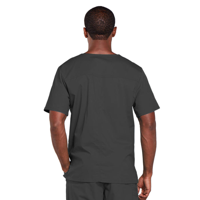 Cherokee Core Stretch 4725 Scrubs Top Unisex V-Neck Pewter 3XL