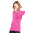 Cherokee Workwear 4881 Underscrubs Women's Long Sleeve Knit Tee Shocking Pink L