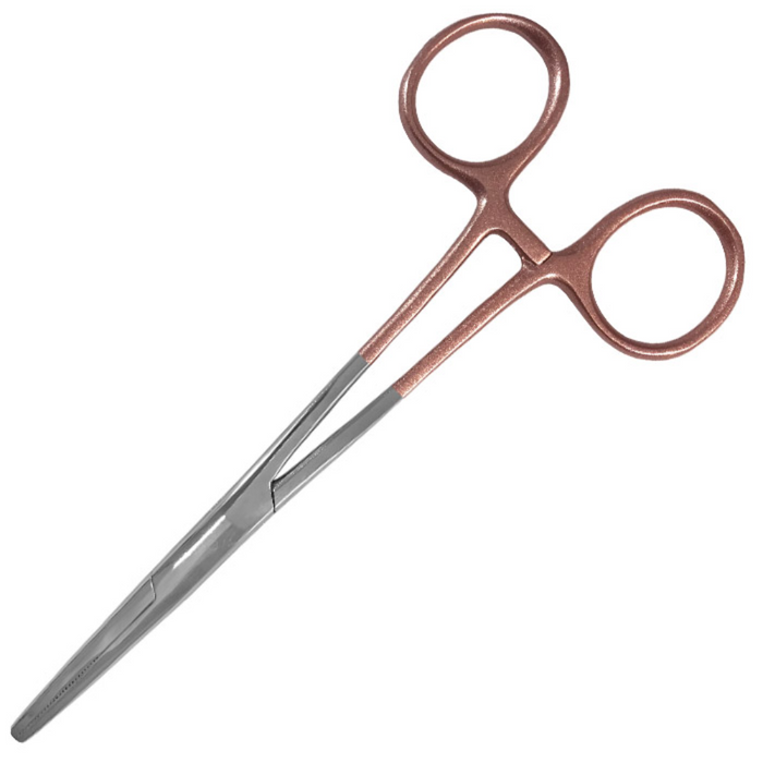 "Prestige 5.5"" Colormate Kelly Forceps Rose Gold"