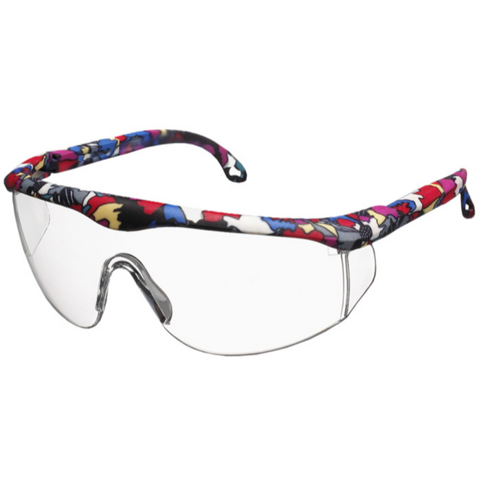 Prestige Printed Full Frame Adjustable Safety Glasses Abstract
