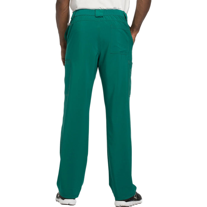 Cherokee Infinity CK200A Scrubs Pants Men's Fly Front Hunter Green 3XL