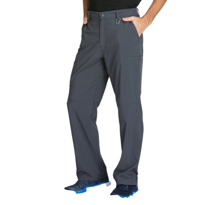Cherokee Infinity CK200A Scrubs Pants Men's Fly Front Pewter 4XL