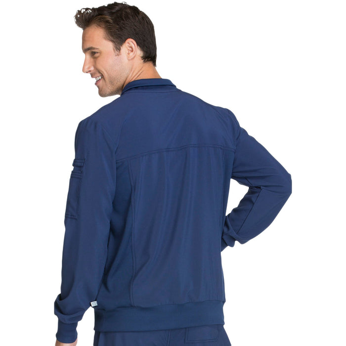 Cherokee Infinity CK305A Scrubs Jacket Men's Zip Front Navy 3XL