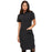 "Cherokee Infinity CK510A Dress Women's 39"" Button Front Black"