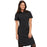 "Cherokee Infinity CK510A Dress Women's 39"" Button Front Black M"