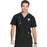 Cherokee Infinity CK900A Scrubs Top Men's V-Neck Black
