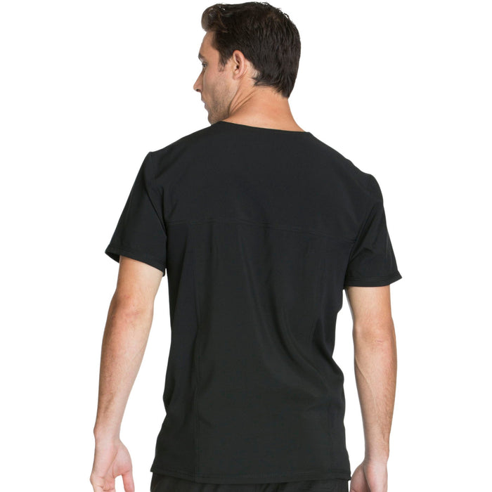 Cherokee Infinity CK900A Scrubs Top Men's V-Neck Black 3XL