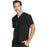 Cherokee Infinity CK900A Scrubs Top Men's V-Neck Black 4XL