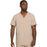 Cherokee Infinity CK900A Scrubs Top Men's V-Neck Khaki