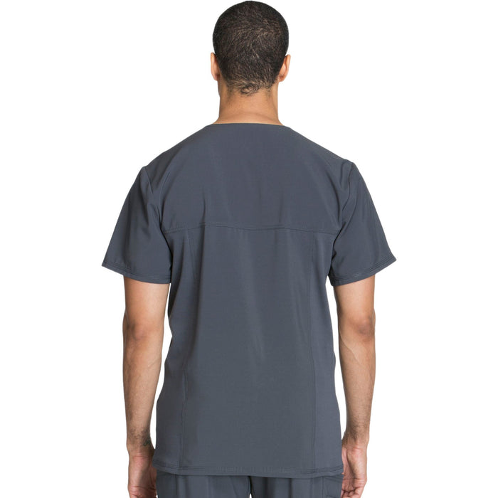 Cherokee Infinity CK900A Scrubs Top Men's V-Neck Pewter 3XL