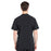 Cherokee Infinity CK910A Scrubs Top Men's V-Neck Black 3XL