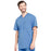 Cherokee Infinity CK910A Scrubs Top Men's V-Neck Ciel Blue 4XL