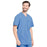 Cherokee Infinity CK910A Scrubs Top Men's V-Neck Ciel Blue 5XL