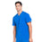 Cherokee Infinity CK910A Scrubs Top Men's V-Neck Royal 4XL