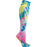 Cherokee FASHIONSUPPORT Socks Women's Knee High 12 mmHg Compression Multi Tie Dye OS
