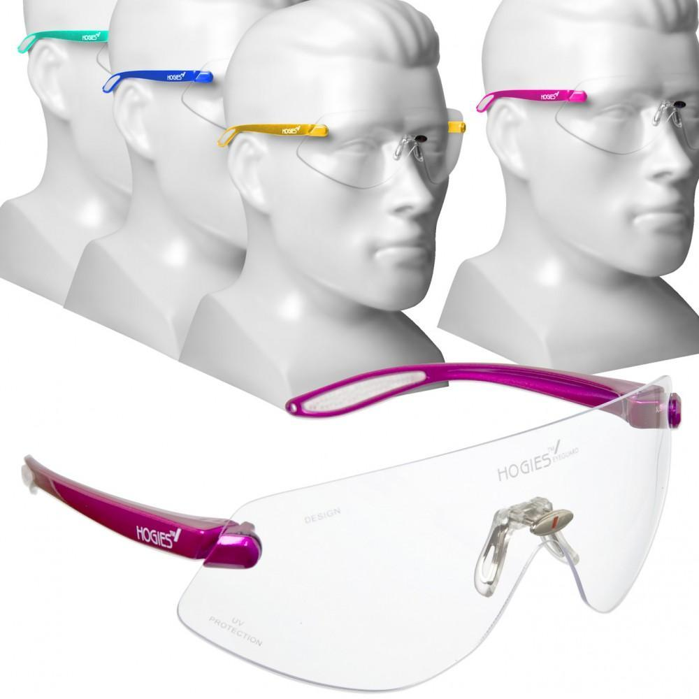 Hogies EyeGuards Protective Safety Glasses Hot Pink
