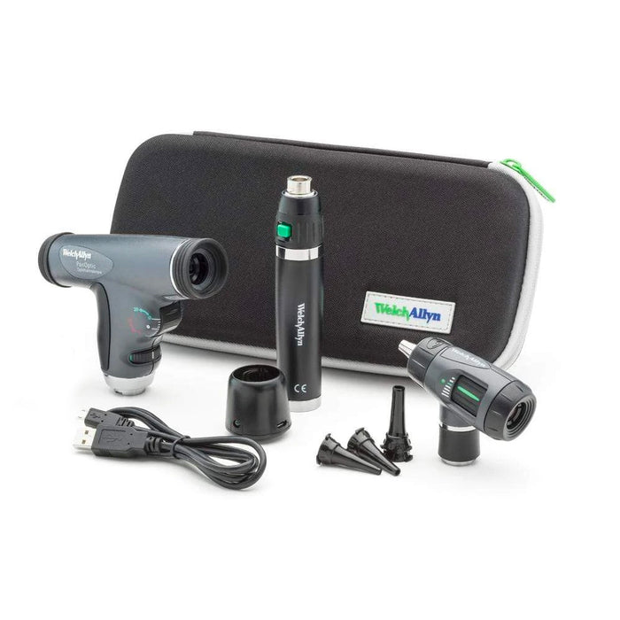 Welch Allyn 3.5V Otoscope and Ophthalmoscope Diagnostic Sets