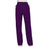 Cherokee Workwear Revolution WW110 Scrubs Pants Women's Mid Rise Straight Leg Pull-on Eggplant 3XL