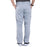 Cherokee Workwear Revolution WW140 Scrubs Pants Men's Fly Front Grey 3XL