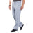 Cherokee Workwear Revolution WW140 Scrubs Pants Men's Fly Front Grey 4XL
