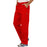 Cherokee Workwear Revolution WW140 Scrubs Pants Men's Fly Front Red 4XL
