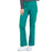 Cherokee Workwear Professionals WW160 Scrubs Pants Women's Mid Rise Straight Leg Drawstring Hunter Green 4XL